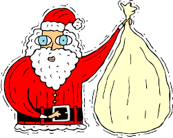 free printable colouring sheets christmas santa claus for girls