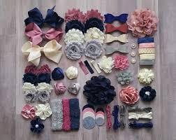 flower headbands diy diy headband kit etsy
