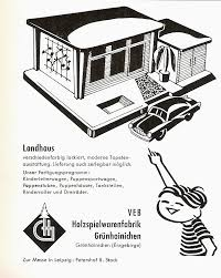 Landhaus K He Diepuppenstubensammlerin Landhaus 1959 Veb Grünhainichen