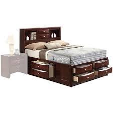 King Platform Storage Bed With Drawers King Storage Beds
