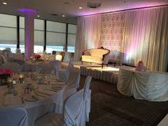 wedding backdrop and table done at algonquin college