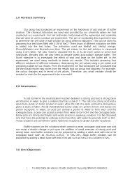 hydrolysis of salt u0026 ph of buffer solution sample documents