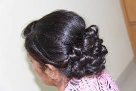indian pakistani bridal updo for medium to long hair youtube