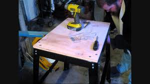 craftsman bench top tool stand youtube