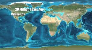 map of america 20000 years ago what happened 20 million years ago quora