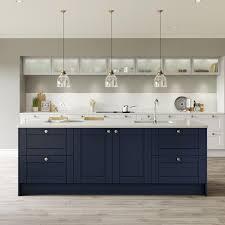 navy blue kitchen cabinets howdens two tone kitchen ideas kitchen inspiration howdens