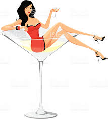 martini illustration martini woman cartoon style stock vector art 165638840 istock
