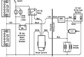 typical vehicle trailer brake control wiring diagram u2013 readingrat net