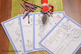 free printable coloring pages of elves elf on the shelf free printable coloring pages thesuburbanmom