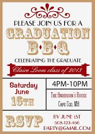 graduation bbq invitations stephenanuno com