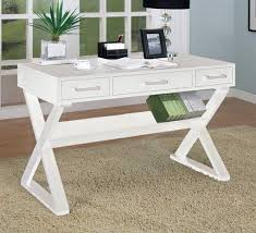 White Office Desk by Lovely White Office Desk With Drawers With Interior Home Design