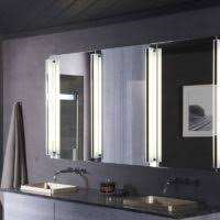 bathroom vanity mirror lights lighted bathroom vanity mirror home design ideas and pictures