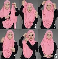 tutorial hijab pashmina tanpa dalaman ninja tutorial hijab pashmina tanpa ninja dengan gambarmuslim muslimah