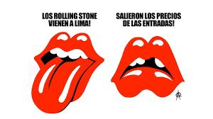 Rolling Stones Meme - the rolling stones en lima memes por precios de entradas