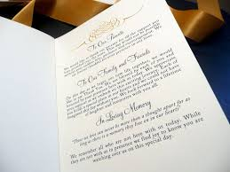Wedding Program Examples The 25 Best Wedding Program Samples Ideas On Pinterest How To