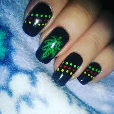 26 weed nail art designs ideas design trends premium psd
