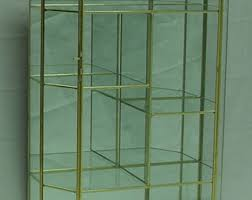 glass cabinet etsy