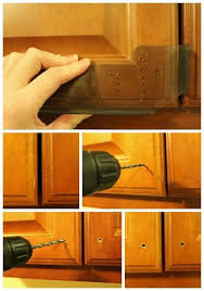 How To Install Kitchen Cabinet Doors Installing Kitchen Cabinet Hardware Installing Kitchen Cabinets