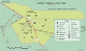 Pennsylvania State Parks Map by Cherry Springs State Park Cherry Springs State Park