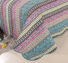 Exotic Comforter Sets Hnnsi Bohemian Quilt Comforter Sets Queen Size 3 Piece Striped