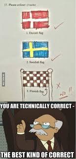 Flag Meme - the finnish flag meme guy
