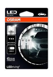Led Osram Osram Ledriving W5w 194 168 Wedge Led Bulbs 6000k 2