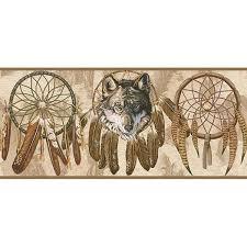 wolf dreamcatcher wallpaper wallpapersafari