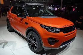 orange range rover 2015 land rover discover sport official pictures and specs