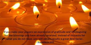 abundance quote prayers of gratitude and thanksgiving