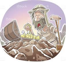 parable of the hidden treasure stock vector art 455316165 istock