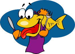 funny fried fish clipart cliparthut free clipart