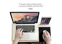 How To Make A Laptop Lap Desk by Amazon Com Slate Mobile Lapdesk The Essential Lap Desk