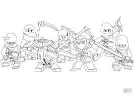 lego ninjago coloring page free printable coloring pages