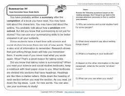 3rd grade comprehension worksheets worksheets
