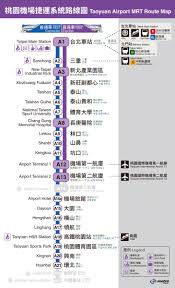 Taipei Mrt Map Map U0026 Transportation