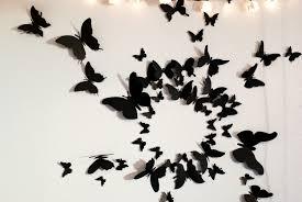 decoration 3d butterfly wall art home decor ideas
