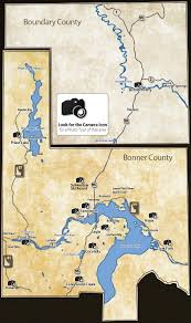 Idaho County Map North Idaho Photo Tour Sandpoint And Surrounding Areas