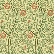 morris u0026 co sweet briar wallpaper