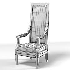 Modern High Back Armchair Model Tall Modern Chair