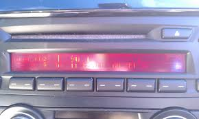 nissan altima coupe radio radio display distorted when car is