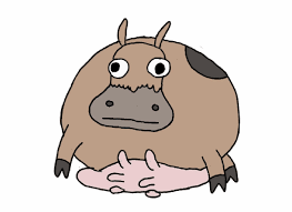 animated gifs cows gifs show more gifs