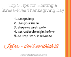 thanksgiving menu plan top 5 tips for hosting a stress free thanksgiving day