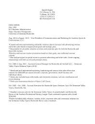 resume objective statement for business management resume objective for food service