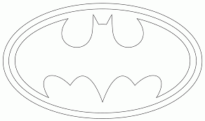 Batman Template free printable cake templates this is the batman template i used