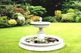 decor tips outdoor design with backyard water fountains and solar