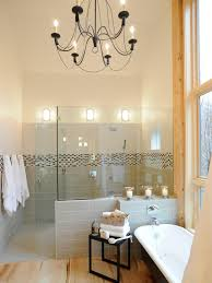 chandeliers for bathroom home and interior
