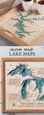 Lake Michigan Depth Map by Personalized Wall Art And Cribbage Boards From Lake Art