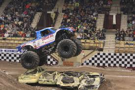 the monster truck bigfoot file bigfoot 15 jumping at brown county arena 2015 jpg wikimedia