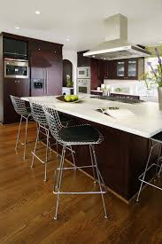 kitchen colors with dark brown cabinets dry food dispensers mixing