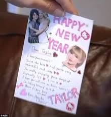 gifts for taylor swift fans taylor swift fan letters discovered in dumpster daily mail online